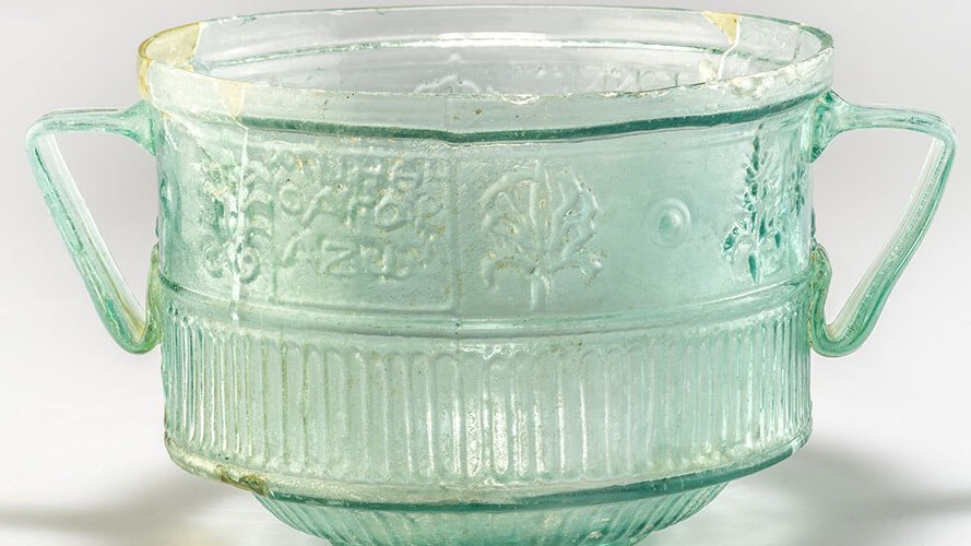 Another example of the cups on which the Ennion credit was found.